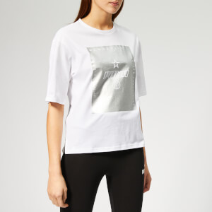 Puma Women's Tz Short Sleeve T-Shirt - Puma White