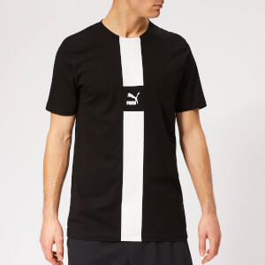 Puma Men's XTG Short Sleeve T-Shirt - Cotton Black