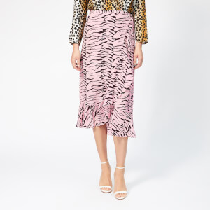 RIXO Women's Gracie Tiger Skirt - Pink
