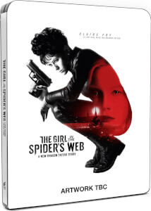 The Girl In The Spider's Web – 4K Ultra HD - Zavvi Exclusive Steelbook (Incl. Blu-ray)