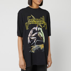 Christopher Kane Women's Sexual Cannibalism T-Shirt - Black