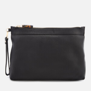 Whistles Women's Chester Zip Pouch - Black