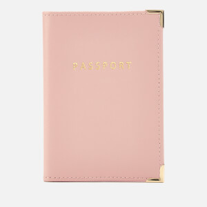 Aspinal of London Women's Passport Cover - Peony