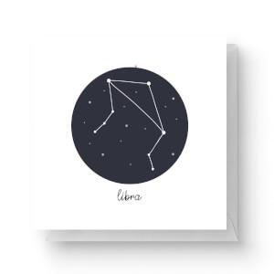 Libra Square Greetings Card (14.8cm x 14.8cm)