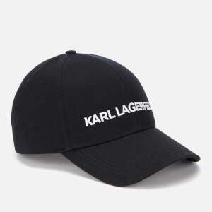 Karl Lagerfeld Women's Karl's Essential Logo Cap - Black: Image 2