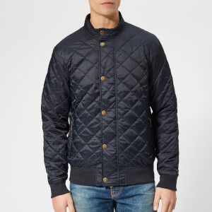 Barbour Men's Moss Quilted Jacket - Navy