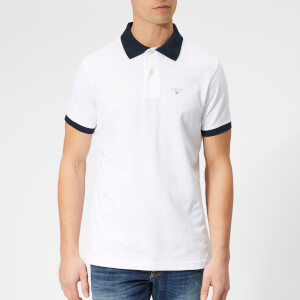 Barbour Men's Lynton Polo Shirt - White