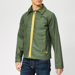 Barbour Beacon Men's Munro Wax Jacket - Light Moss