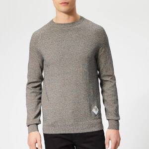 Barbour Beacon Men's Mix Knitted Jumper - Navy