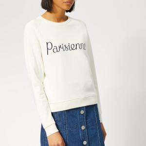 30678a740d14 Maison Kitsuné Women s Parisienne Sweatshirt - Latte