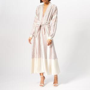 Philosophy di Lorenzo Serafini Women's Printed Maxi Dress - White