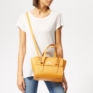 The Cambridge Satchel Company Women's Small Emily Tote Bag - Indian Yellow: Image 3
