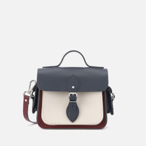 The Cambridge Satchel Company Women's Traveller Bag - Clay/Oxblood/Navy