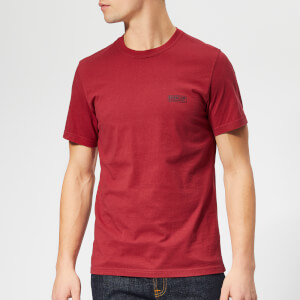 Barbour International Men's Small Logo T-Shirt - Biking Red