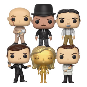 Ensemble complet Funko Pop! Vinyl – James Bond