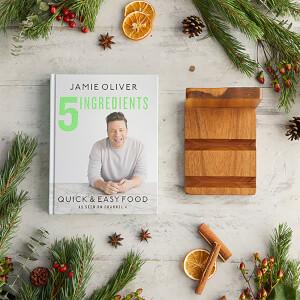 5 Ingredients & Book Holder