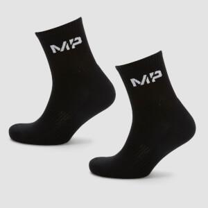 Chaussettes de tennis pour homme - Noir