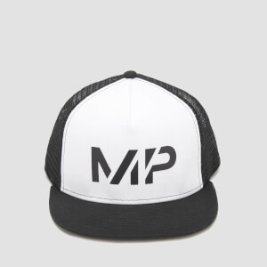 MP Core Trucker Cap - White