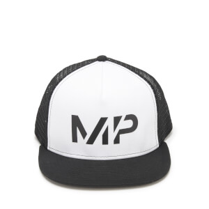 Myprotein Core Trucker Cap - White