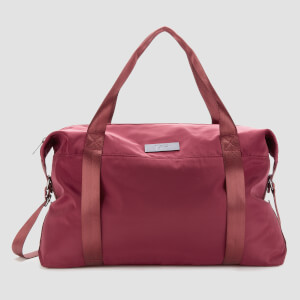 High Shine Holdall - Malbec