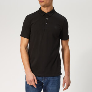 Armani Exchange Men's Small Logo Polo Shirt - Black