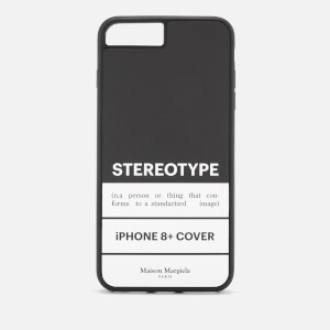 Maison Margiela Men's Stereotype iPhone 8 Plus Case - Black/White
