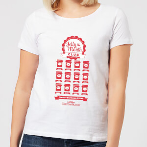 National Lampoon Jelly Of The Month Club Women's Christmas T-Shirt - White