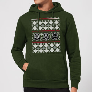 Felpa con cappuccio Star Wars Imperial Darth Vader Christmas - Forest Green