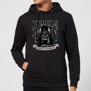 Felpa con cappuccio Star Wars Darth Vader Humbug Christmas- Nero