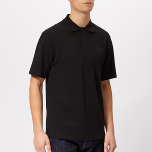 Acne Studios Men's Elton Face Polo Shirt - Black