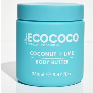 ECOCOCO Coconut and Lime Body Butter 280g