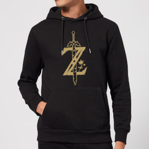 Nintendo Legend Of Zelda Master Sword Hoodie - Black