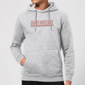 Nintendo Super Nintendo SNES Men's Hoodie - Grey