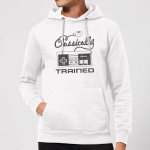 Nintendo Super Mario Retro Classically Trained Hoodie - White