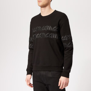 McQ Alexander McQueen Men's Metal Logo Sweatshirt - Darkest Black