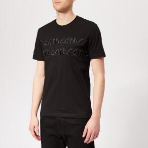 McQ Alexander McQueen Men's Metal Logo T-Shirt - Darkest Black