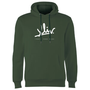 How Ridiculous XLIV Script Hoodie - Forest Green