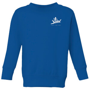 How Ridiculous XLIV Script Pocket Kids' Sweatshirt - Royal Blue