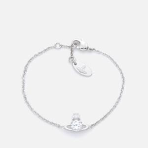 Vivienne Westwood Women's Reina Small Bracelet - White/Rhodium