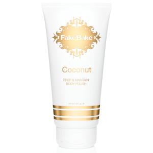 Fake Bake Black Coconut Oil Free Body Polish