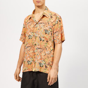Our Legacy Men's Box Shirt - Red Plants Print