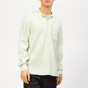 Our Legacy Men's Shawl Zip Shirt - Translucent Dirt White