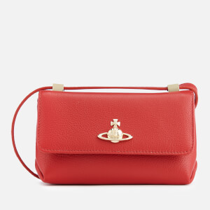 Vivienne Westwood Women's Balmoral Small Bag with Flap - Red