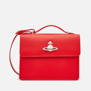 Vivienne Westwood Women's Matilda Medium Shoulder Bag - Red