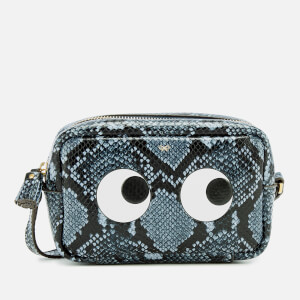 Anya Hindmarch Women's Mini Eyes Cross Body Bag - Night Sky
