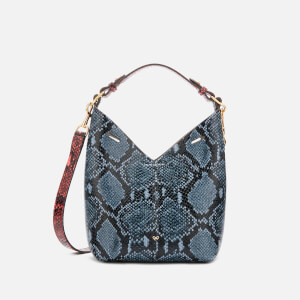 Anya Hindmarch Women's Python Mini Build a Bag - Natural/Night Sky