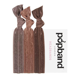 Popband London Brown Headbands