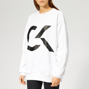 Calvin Klein Performance Women's Pullover Sweatshirt - Bright White