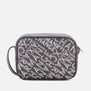 Armani Exchange Women's Small Logo Cross Body Bag - Anthracite/Argento