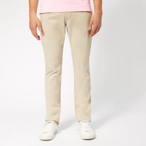 Emporio Armani Men's 5 Pocket Gabadine Jeans - Beige